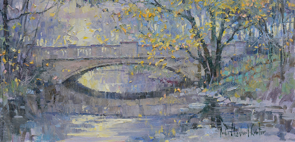 Park Bridge October by John Michael Carter, OPAM