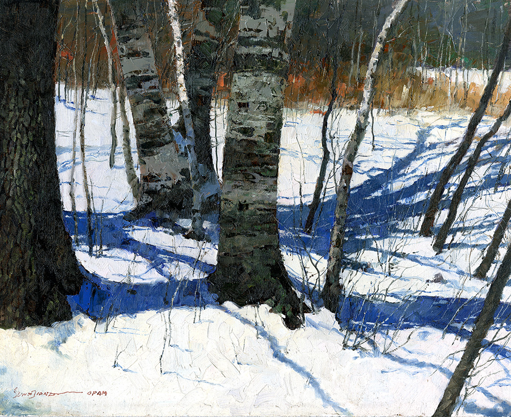 Winter Birch by Xiao S. Jiang, OPAM