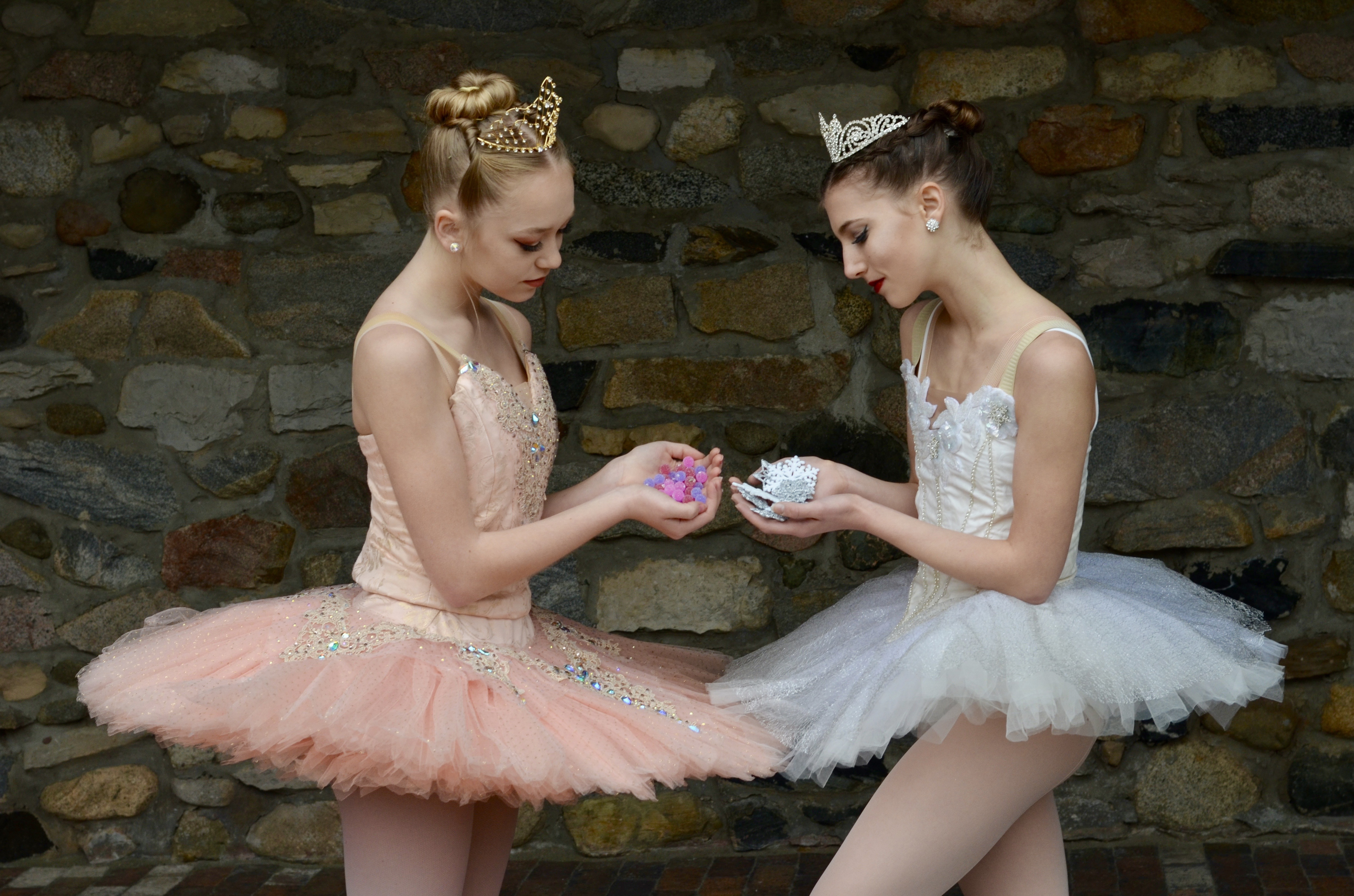Sugar Plum Fairy and Snow Queen