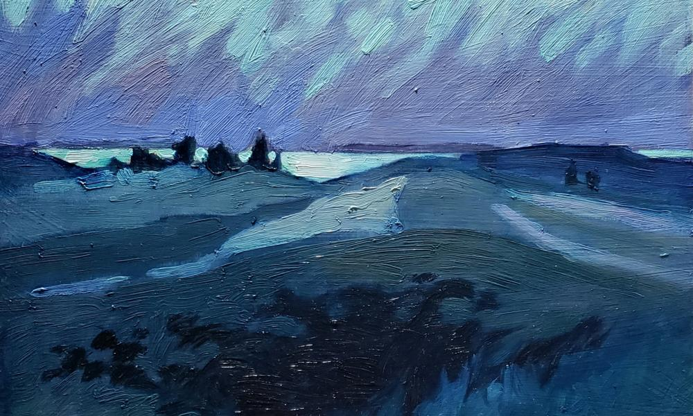 Debra Howard, Lake Michigan Nocturne